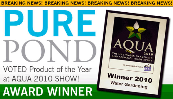 Evolution Aqua Awards PURE POND