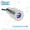 Oase LunaLed 9 s, 9-diodové LED bílé neutrální světlo v setu s kabelem 10 m