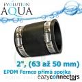 EA EPDM spojka 2, (63 až 50 mm)