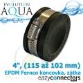 EA EPDM koncovka 4, (115 až 102 mm)