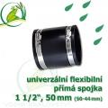 Flexibilní mufna 50 mm, 1 1/2, (50-44 mm)