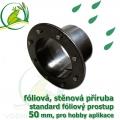 PVC příruba fóliová 50 mm