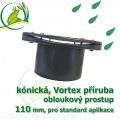 PVC příruba kónická 110 mm - pro kulaté nádrže