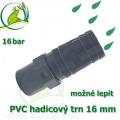 PVC lepící trn 16 mm, na 16-18 mm hadici