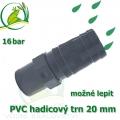 PVC lepící trn 20 mm, na 20-22 mm hadici