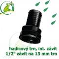PP trn, interní závit 1/2 šroubovací, trn 12-13 mm