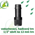 Mini trn ext. závit 1/2 na 12 (13 mm) na vzduchovací hadičky a jezírkové hadice