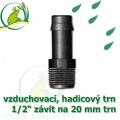Mini trn ext. závit 1/2 na 20 (19 mm) na vzduchovací hadičky a jezírkové hadice