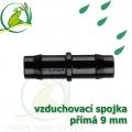 Spojka přimá PP 9-10 mm vzduchovací, hadičková