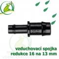 Spojka redukce PP, 16x12-13 mm, vzduchovací, hadičková