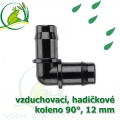 Spojka koleno 90°, PP 12-13 mm vzduchovací, hadičková