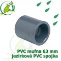 PVC mufna, jezírková spojka 63 mm, lepení/lepení