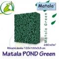 Matala deska POND GREEN 100x120x3,8cm, zelená - filtrační