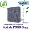 Matala deska POND GREY 100x120x3,8cm, šedá - filtrační