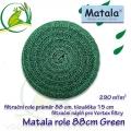 Matala kulatá polojemná role, průměr 88 cm, výška 15 cm, POND GREEN, speciálně vhodná pro Vortex Matala