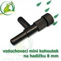 vzduchovací mini kohoutek na 8 (9-12) mm