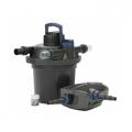 Tlakový filtrační set FiltoClear Set 12000 + Pure BOMB a Pure Pond Black Balls 1000 ZDARMA, UVC 18W + AquaMax Eco Premium 8000