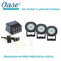 Illumination set MIDI/MAXI/AirFlo LED/01 - Osvětlení vhodné i k podvodní instalaci