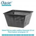 Koš na vodní rostliny čtvercový 23cm - Plant basket rectangular 23