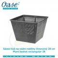 Koš na vodní rostliny čtvercový 28cm - Plant basket rectangular 28