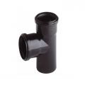 T-piece black DN75 - T-kus 75 mm, černá