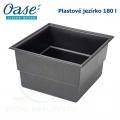 Plastové jezírko - OASE Preformed pond PE 750 x 750 x 450 mm, cca 180 litrů samonosná nádrž, max. 250 litrů
