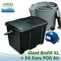 Velká kazetová filtrace GIANT XL+Eazy POD Air, pro jezírka do 100.000 litrů
