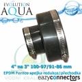 EA EPDM spojka-přechodka 4 na 3 110-97/91-86 mm