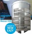 EAZY Upgrade Kit for Nexus 220, Upgrade Nexus 200/210 na model 220, odnímatelný model, včetně média K1 Micro 18 litrů