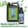 Bacto Liquid 5 litrů na 100-250 m3, mix bakterií pro nastartování jezírek a filtrací, pro projasnění, stabilitu, rovnováhu eko-systému v jezírcích a biotopech