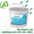 Bio Stabil, úprava vody za 20 minut, 1 kg na 10-100 m3, pro stabilizaci pH, KH, GH, projasnění vody, přirodní minerály