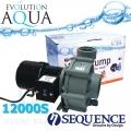 Sequence 12000S, výkon až 12.670 l/hod., spotřeba 72-92 Watt, výtlak až 2,5 m, až 3 roky záruka