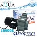Sequence 18000S, výkon až 18.890 l/hod., spotřeba 152-262 Watt, výtlak až 4,9 m, až 3 roky záruka