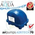 AirPump Airtech 70 l budget, 70 l/min., 34 Watt, samotný kompresor, bez krabice