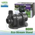 Jezírkové gravitační čerpadlo Velda Eco Stream Stand 8000, max. průtok 7800 l/h, výtlak 4,0 m, příkon 80W,