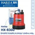 Drenážní čerpadlo Hailea HX-8300, 2500 litrů/hod, max. výtlak 3,2 m