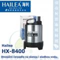 Drenážní čerpadlo Hailea HX-8400, 4500 litrů/hod, max. výtlak 4,2 m