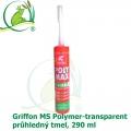 Griffon MS Polymer-transparent, průhledný tmel, 290 ml