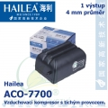 Vzduchovací kompresor tichý Hailea ACO-7700, 2 l/min, 1,8 Watt, do 40 db,