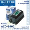 Vzduchovací kompresor Hailea ACO-9902, 2,5 l/min, 2,2 Watt,