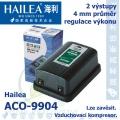 Vzduchovací kompresor Hailea ACO-9904, 5,5 l/min, 3,5 Watt,
