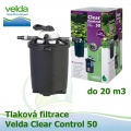 Tlaková filtrace Velda Clear Control 50, pro jezírka do 20 m3