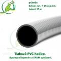 Tlaková PVC hadice 32mm ext. / 25 mm int.