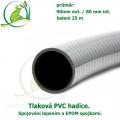 Tlaková PVC hadice 90mm ext. / 80 mm int.