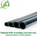Tlaková PVC-U trubka 110mm ext.