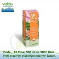 All Clear 500 ml na 5000 litrů - proti dlouhé vláknité zelené řase