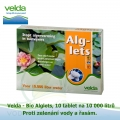 Bio Alglets, proti zelenání vody a řasám, 10 tablet na 10 000 litrů