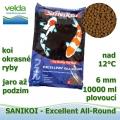 Sanikoi Excellent All Round 6mm, koi a okrasné ryby, jaro až podzim, 10000 ml