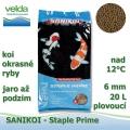 SaniKoi Staple Prime 6 mm, koi okrasné ryby, jaro až podzim, 20000 ml