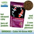SaniKoi Colour Hi-Grow 3 mm, koi a okrasné ryby, jaro až podzim, 3000 ml